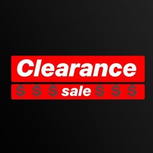 💲♦️CLEARANCE SALE♦️💲price as shown